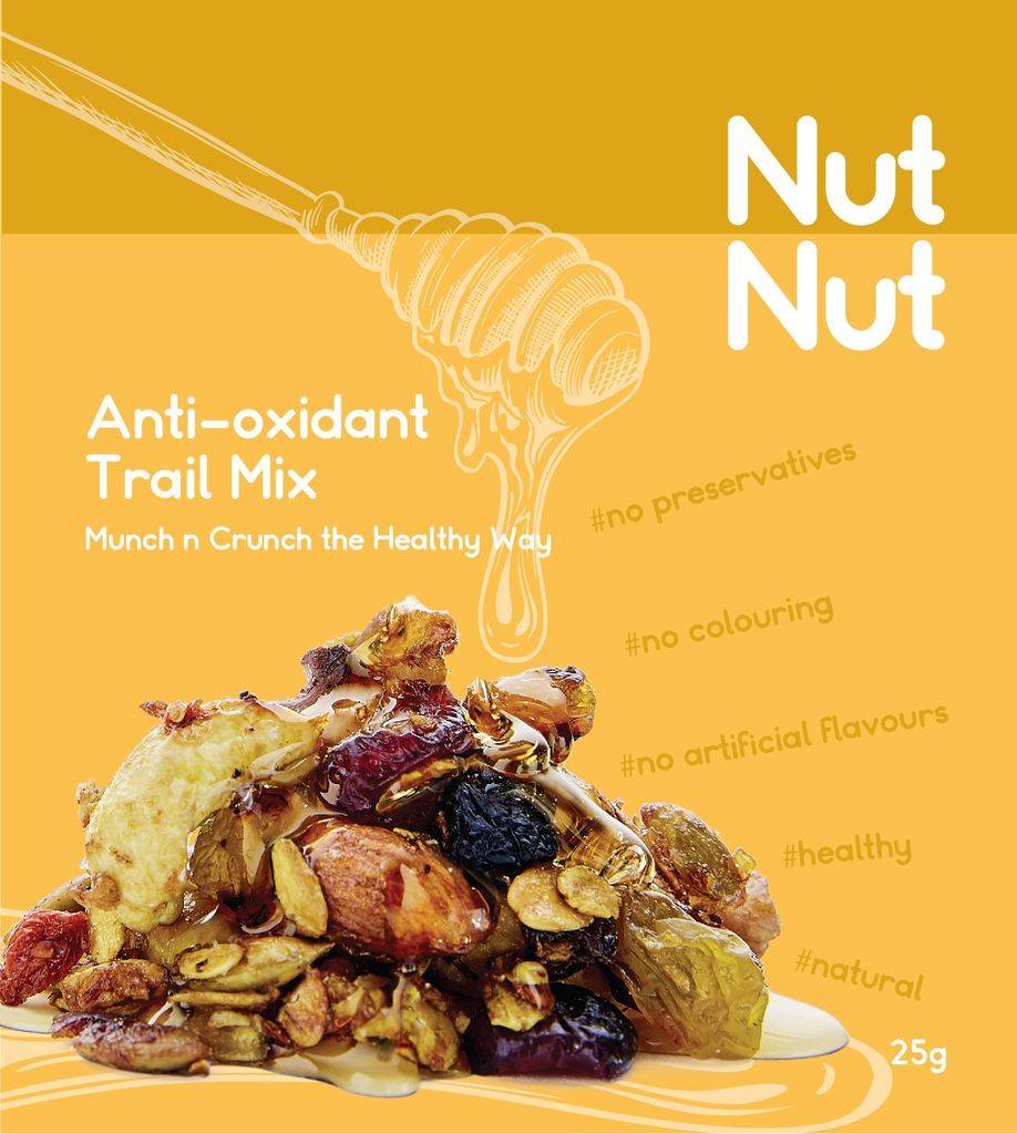 Anti-Oxidant Nut Trail Mix – NutNut 25g